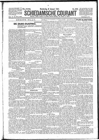 Schiedamsche Courant 1931-01-08