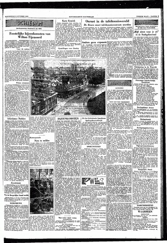 Rotterdamsch Nieuwsblad / Schiedamsche Courant / Rotterdams Dagblad / Waterweg / Algemeen Dagblad 1953-10-08