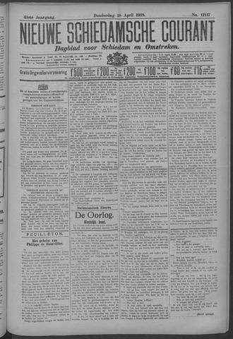 Nieuwe Schiedamsche Courant 1918-04-18