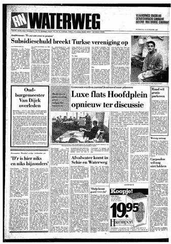 Rotterdamsch Nieuwsblad / Schiedamsche Courant / Rotterdams Dagblad / Waterweg / Algemeen Dagblad 1987-11-18