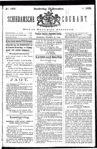 Schiedamsche Courant 1879-12-25