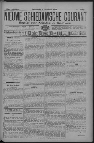 Nieuwe Schiedamsche Courant 1913-11-06