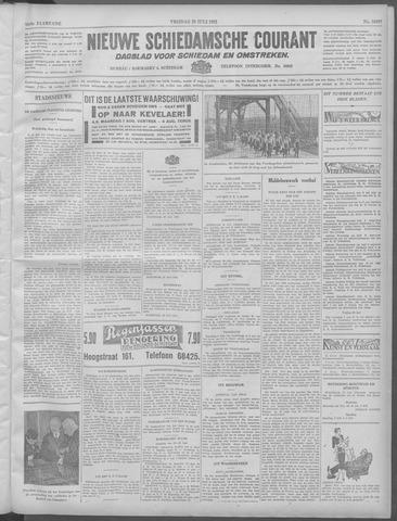 Nieuwe Schiedamsche Courant 1932-07-29