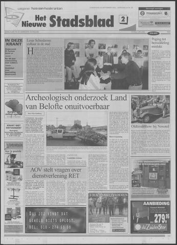 Het Nieuwe Stadsblad 2002-09-26