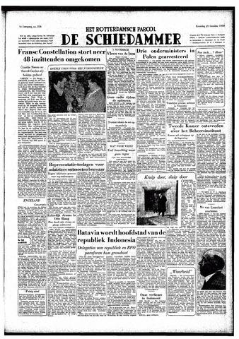Rotterdamsch Parool / De Schiedammer 1949-10-29