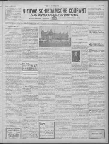 Nieuwe Schiedamsche Courant 1932-04-29