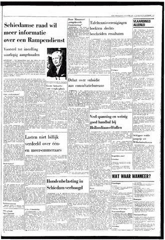 Rotterdamsch Nieuwsblad / Schiedamsche Courant / Rotterdams Dagblad / Waterweg / Algemeen Dagblad 1968-10-29