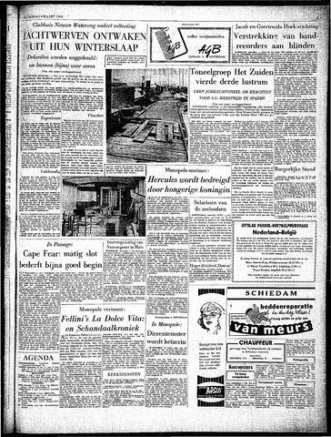 Rotterdamsch Parool / De Schiedammer 1963-03-09