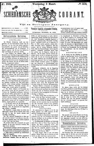 Schiedamsche Courant 1881-03-02