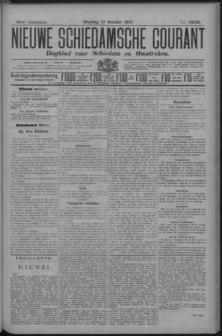 Nieuwe Schiedamsche Courant 1913-10-21