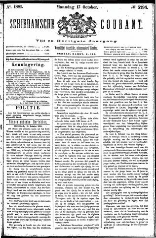 Schiedamsche Courant 1881-10-17