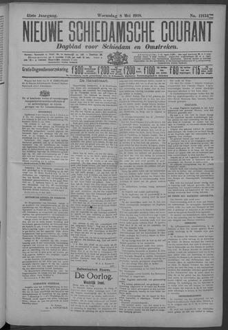 Nieuwe Schiedamsche Courant 1918-05-08