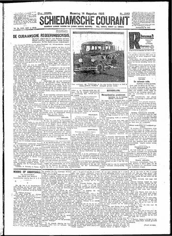 Schiedamsche Courant 1933-08-14