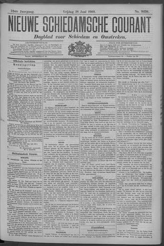 Nieuwe Schiedamsche Courant 1909-06-18
