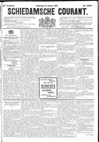 Schiedamsche Courant 1910-01-15