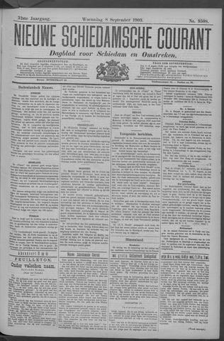 Nieuwe Schiedamsche Courant 1909-09-08