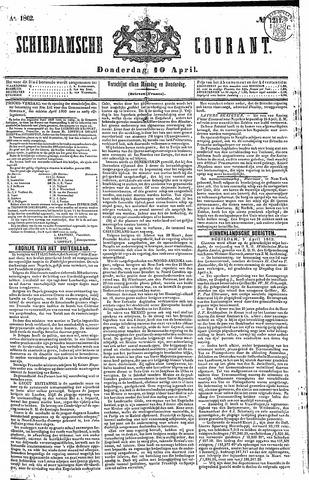 Schiedamsche Courant 1862-04-10