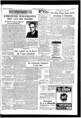 Rotterdamsch Nieuwsblad / Schiedamsche Courant / Rotterdams Dagblad / Waterweg / Algemeen Dagblad 1959-03-28
