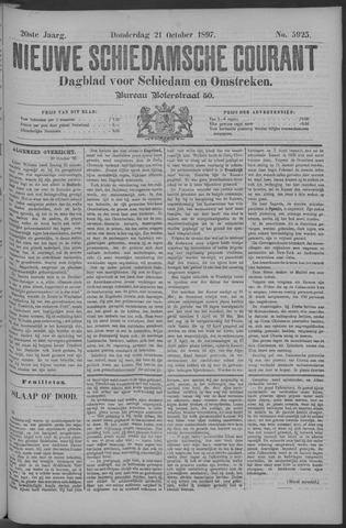 Nieuwe Schiedamsche Courant 1897-10-21