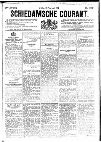 Schiedamsche Courant 1912-02-02