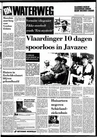 Rotterdamsch Nieuwsblad / Schiedamsche Courant / Rotterdams Dagblad / Waterweg / Algemeen Dagblad 1983-07-20