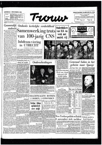 Trouw / De Rotterdammer 1960-11-01