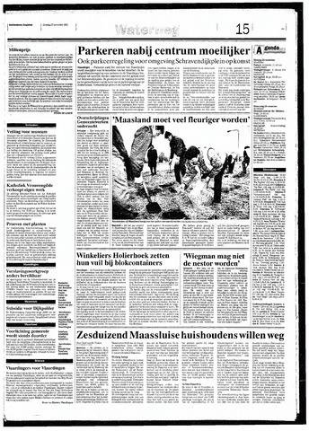 Rotterdamsch Nieuwsblad / Schiedamsche Courant / Rotterdams Dagblad / Waterweg / Algemeen Dagblad 1993-11-23
