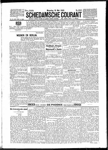 Schiedamsche Courant 1933-05-15