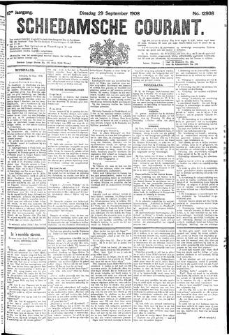 Schiedamsche Courant 1908-09-29