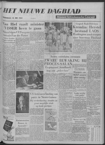 Nieuwe Schiedamsche Courant 1962-05-16