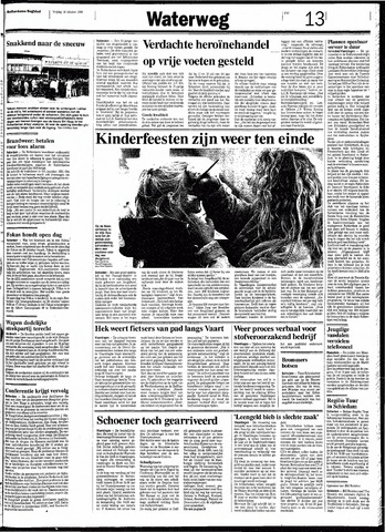 Rotterdamsch Nieuwsblad / Schiedamsche Courant / Rotterdams Dagblad / Waterweg / Algemeen Dagblad 1991-10-18