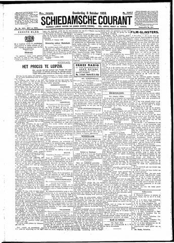 Schiedamsche Courant 1933-10-05