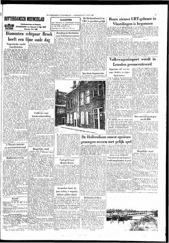 Rotterdamsch Nieuwsblad / Schiedamsche Courant / Rotterdams Dagblad / Waterweg / Algemeen Dagblad 1966-06-09
