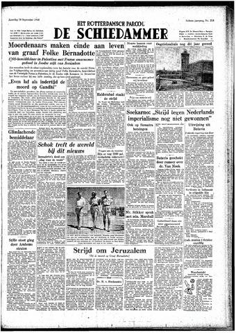Rotterdamsch Parool / De Schiedammer 1948-09-18