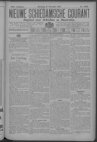 Nieuwe Schiedamsche Courant 1917-11-17