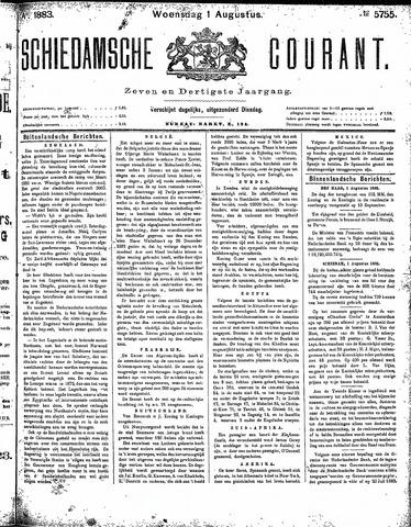 Schiedamsche Courant 1883-08-01