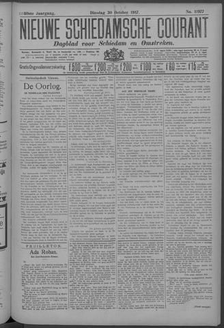 Nieuwe Schiedamsche Courant 1917-10-30