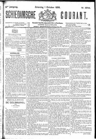 Schiedamsche Courant 1898-10-01