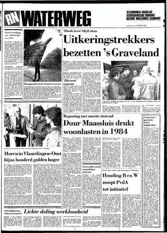 Rotterdamsch Nieuwsblad / Schiedamsche Courant / Rotterdams Dagblad / Waterweg / Algemeen Dagblad 1983-10-24