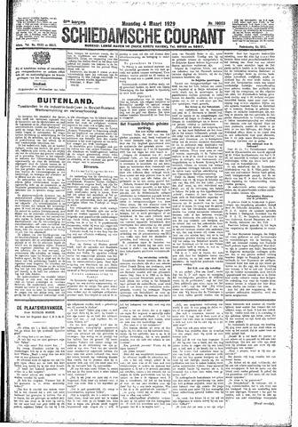 Schiedamsche Courant 1929-03-04