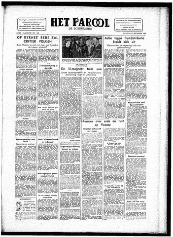 Rotterdamsch Parool / De Schiedammer 1946-09-07