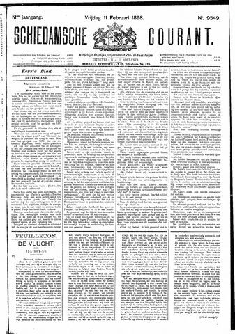 Schiedamsche Courant 1898-02-11