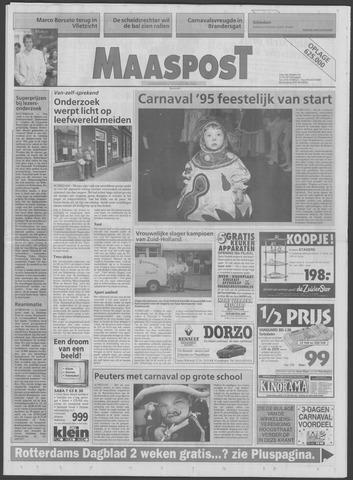 Maaspost / Maasstad / Maasstad Pers 1995-02-22