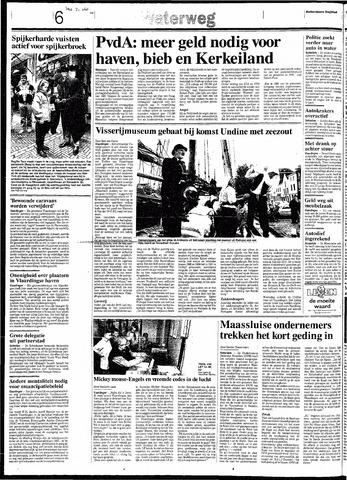 Rotterdamsch Nieuwsblad / Schiedamsche Courant / Rotterdams Dagblad / Waterweg / Algemeen Dagblad 1991-10-21