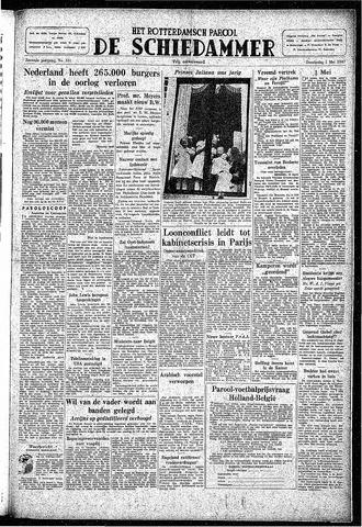 Rotterdamsch Parool / De Schiedammer 1947-05-01