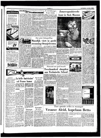 Trouw / De Rotterdammer 1962-07-14