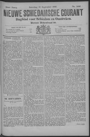 Nieuwe Schiedamsche Courant 1897-09-18