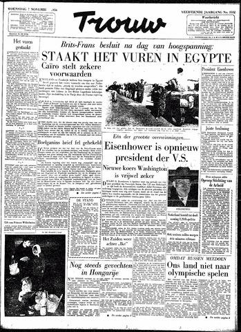 Trouw / De Rotterdammer 1956-11-07