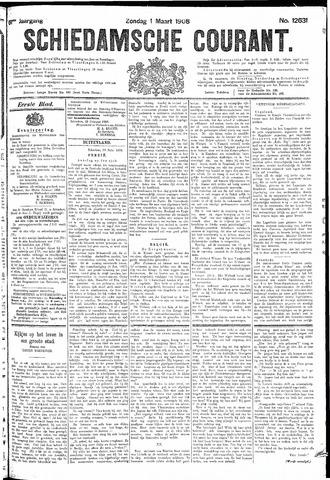Schiedamsche Courant 1908-03-01