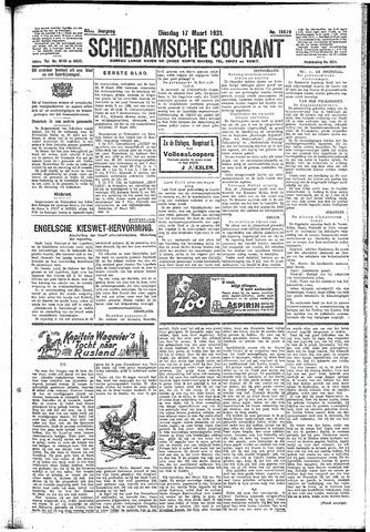 Schiedamsche Courant 1931-03-17